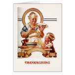 Happy Thanksgiving. Vintage Art Greeting Cards