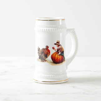 Happy Thanksgiving. Vintage Design Gift Mugs