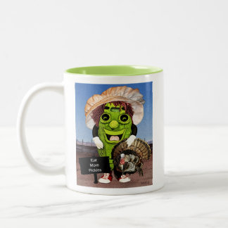 Happy Thanksgiving With Dolly Dill Mug