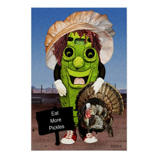 Happy Thanksgiving With Dolly Dill Poster