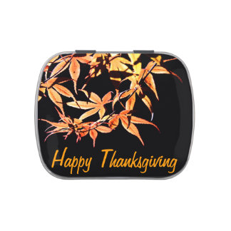 Happy Thanksgiving with Maples - Custom Candy Tin