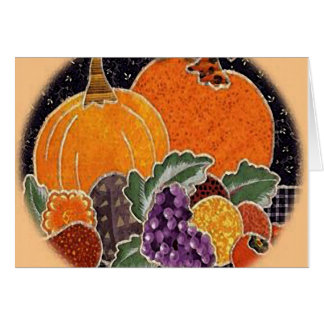 Happy Thanksgiving Yummies Card