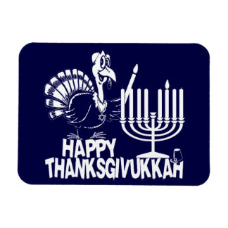 Happy Thanksgivukkah Hanukkah Thankgiving Magnet