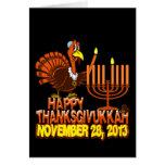Happy Thanksgivukkah Hanukkah Thanksgiving Cards