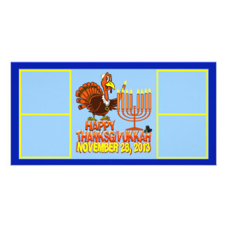 Happy Thanksgivukkah Photo Card