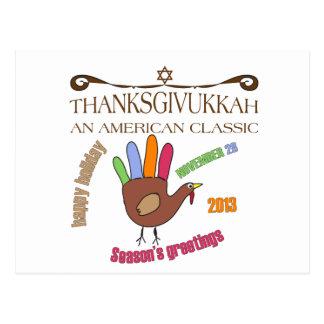 Happy Thanksgivukkah Post Card