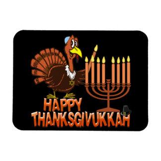 Happy Thanksgivukkah Thankgiving Hanukkah Magnet