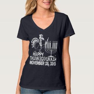 Happy Thanksgivukkah Thankgiving Hanukkah T-shirt