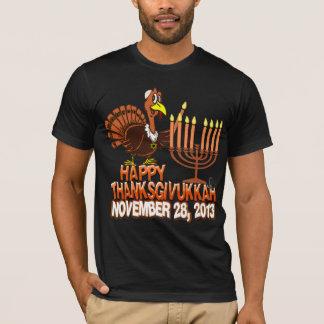 Happy Thanksgivukkah Thanksgiving Hanukkah Tshirt
