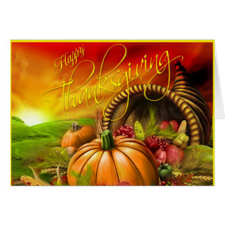 Happy Thanskgiving Card