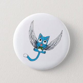Happy the Cat button