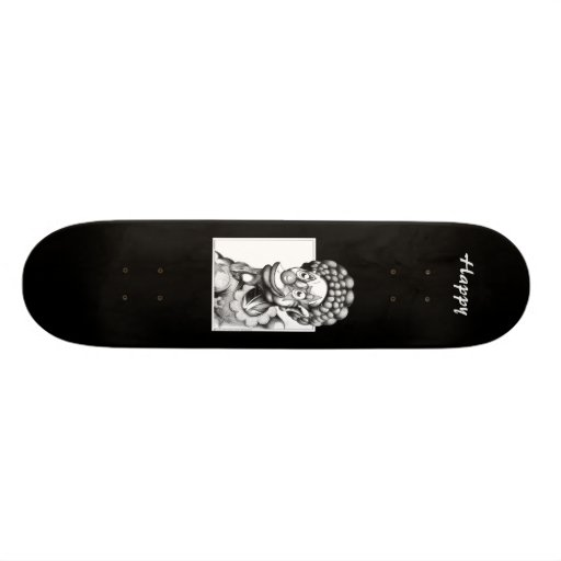 Happy the Clown Skate Deck