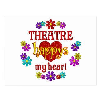 Happy Theatre Postcard