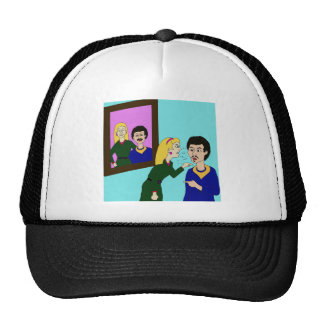 Happy then Angry Couple Hats