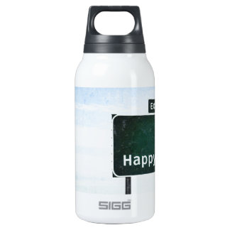 Happy Thermos Water Bottle