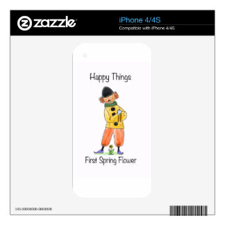 Happy Things – First Spring Flower Skins For The iPhone 4