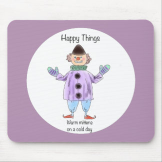 Happy Things – Mittens Mouse Pad