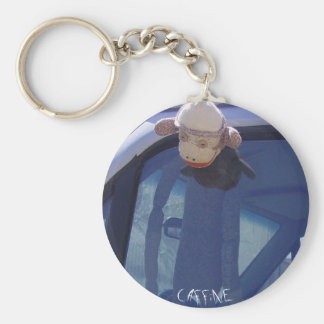 Happy Thoughts Basic Round Button Keychain
