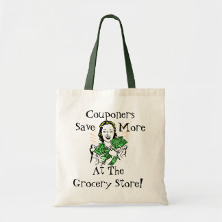 Happy Thrifty Lady Money in Hand Savings Gifts Budget Tote Bag
