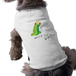 Happy Throw-Up Guy for your Dog Tee