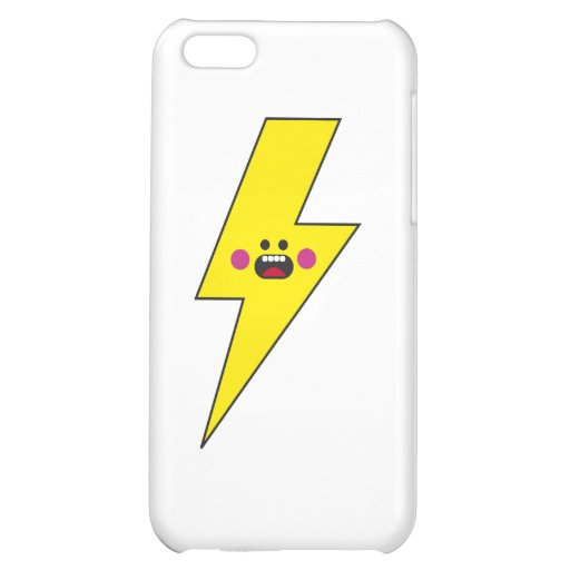 Happy Thunder iPhone 5C Cover