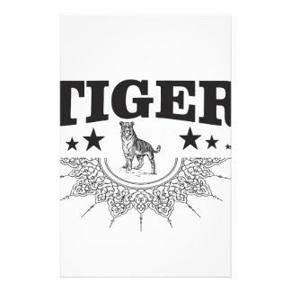 happy tiger stationery