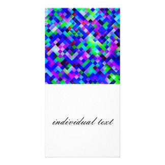 happy tiles blue (C) Card