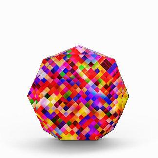 happy tiles red (C) Acrylic Award