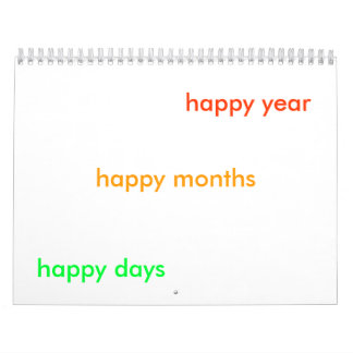 happy time calendar