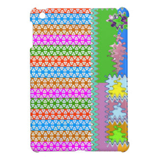 Happy Times : Feminine Energy Pattern Cover For The iPad Mini