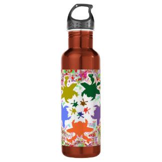 Happy Times - Froggy Dance Baby Designs 24oz Water Bottle