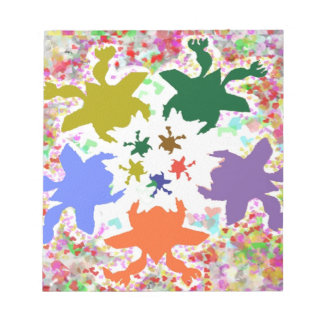 Happy Times - Froggy Dance Baby Designs Note Pad