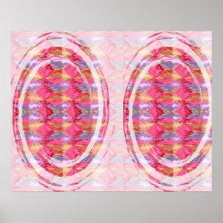 Happy Times  - Rose Petal Art Waves Poster