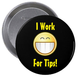 Happy Tip Button