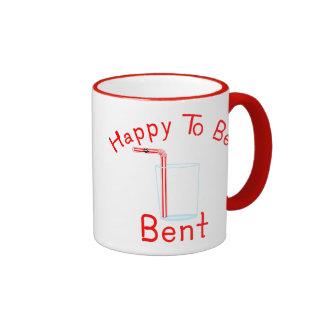 Happy to be Bent Coffee Mug