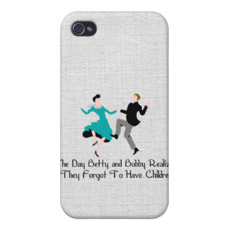 Happy To Be Child-Free iPhone 4/4S Covers
