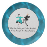 Happy To Be Child Free Party Plates