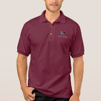 Happy To Be Child-Free Polo Shirt