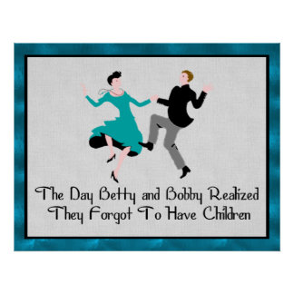 Happy To Be Child Free Poster
