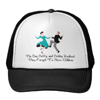Happy To Be Child Free Trucker Hat