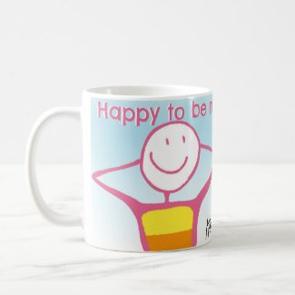 Happy to Be Me Mug