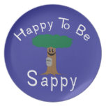 Happy to be Sappy Dinner Plate
