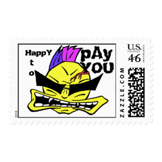 HAPPY TO PAY YOU STAMP