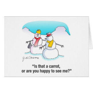 Happy To See Me? Greeting Card