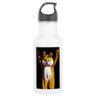 Happy to See You Bunny 18oz Water Bottle