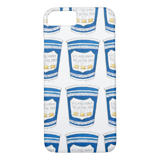 Happy To Serve You NYC Greek Coffee Cup Cups Case