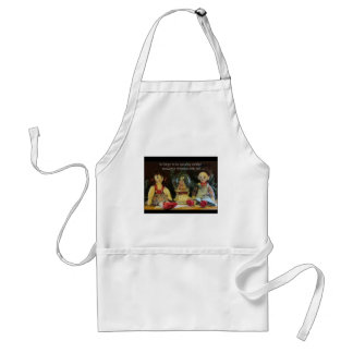 Happy to spend another Christmas with you. Adult Apron