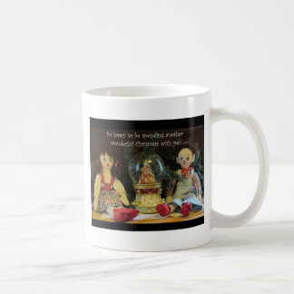 Happy to spend another Christmas with you. Coffee Mug