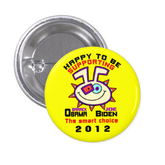 HAPPY TO SUPPORT OBAMA./BIDDEN 1012 PIN