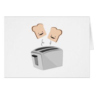 Happy Toaster Card